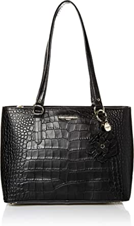 Karl Lagerfeld Paris womens Heather Croco Tote