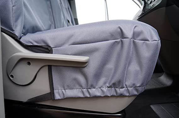Mr E Saver/© Black//Grey Polyester Ohio Van Seat Covers 2+1 MRE21OHIGRY1621