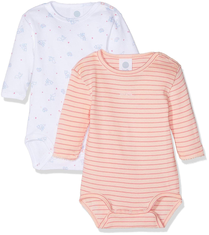 per of 2 Sanetta Baby-M/ädchen Formender Body