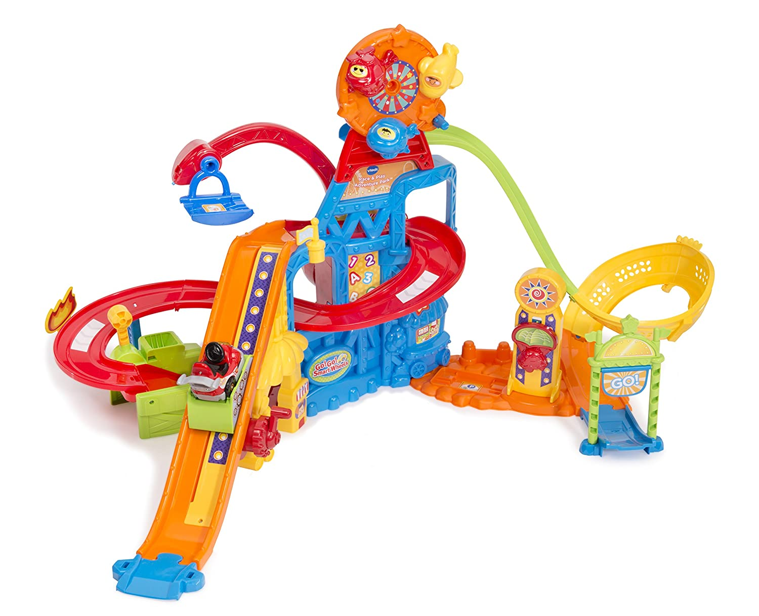 English VTech Go  Go  Smart Wheels Race & Play Adventure Park (English Version)