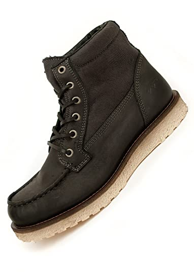 418a164403b Jack and Jones Schuhe Winter Leder Boots JJ Logger SALE overdye ...