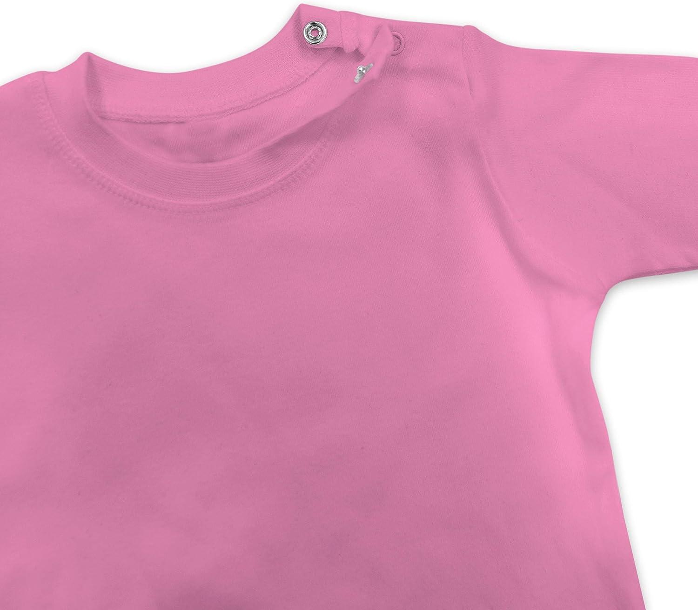 Geburtstag Baby Baby T-Shirt Langarm Geburtstag Krone Junge Erster Shirtracer 1