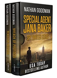 The Special Agent Jana Baker Spy-Thriller Series Box Set (Books 4-5)