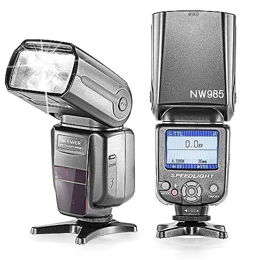 77 opinioni per Neewer® NW-985N i-TTL 4-display a colori TFT, Alta velocita` Sync, Camera Slave