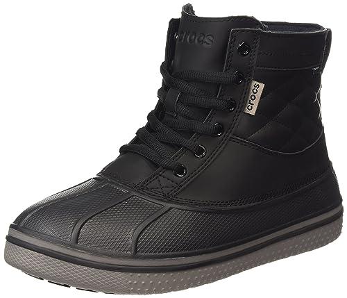Crocs All Cast Waterproof Duck, Men's Boots, Black (Black/Black),