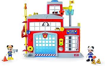 IMC Toys 181939 - Estacion de bomberos ¡al rescate! mickey: Amazon.es: Juguetes y juegos