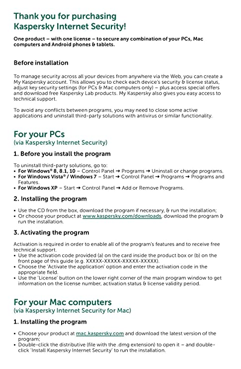 kaspersky internet security 2016 free download for windows 10
