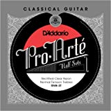DAddario RNN-3T Pro-Arte Rectified Clear Nylon Classical Guitar Half Set