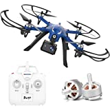 DROCON Blue Bugs Hobby Drone with Brushless Motors Support Gopro HD Camera Upgraded MJX Bugs 3 Quadcopter Long Working Time 300Meters Flying Distance