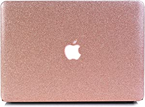 "Onkuey MacBook Pro Retina 15 Inch Case (2015), Bling Crystal PC Hard Case for MacBook Pro 15"" with Retina Display (Model: A1398, NO CD-ROM Drive) - Bling Rose Golden"