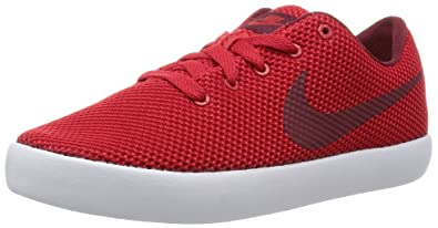 nike casual shoes. nike men\u0027s essentialist university red/team red/white casual shoe 9 men us shoes