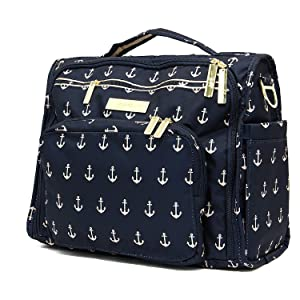 Ju-Ju-Be B.F.F. Convertible Diaper Bag, The Admiral