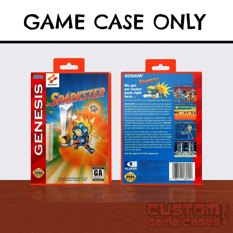 Sega Genesis Sparkster - Case