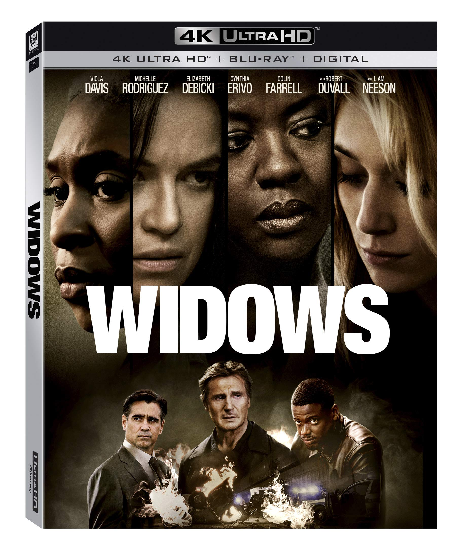 4K Blu-ray : Widows (With DVD, Digital Copy, Widescreen, Subtitled, Dolby)
