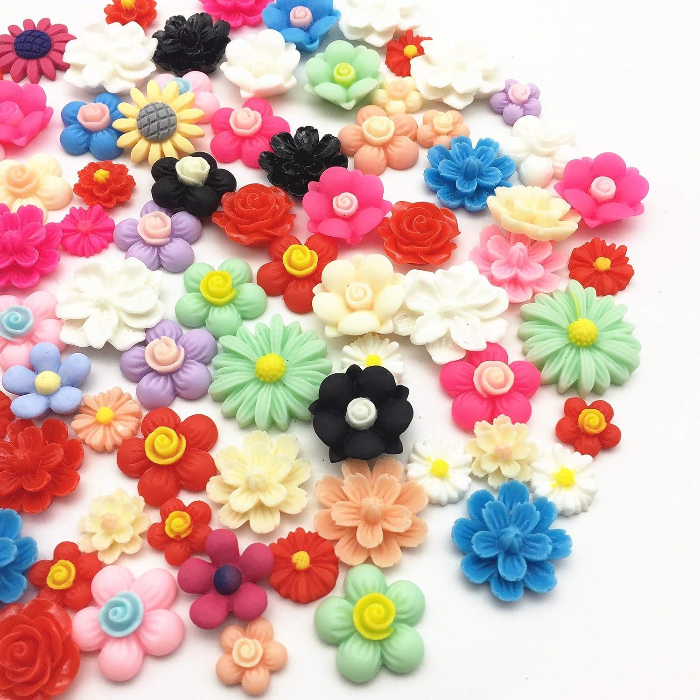 Ladybug Resin Flatbacks hair bows embellishments scrapbooking craft glue on