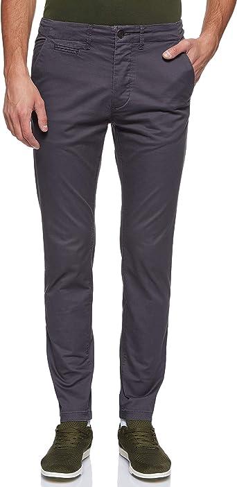 Jack /& Jones Chino Hose Pantalones Informales de Negocios para Hombre