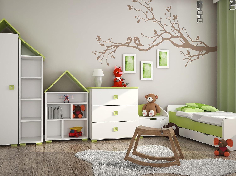 60cm x 35cm x 50cm Pancha portagiochi in legno per la cameretta bambini KUFER