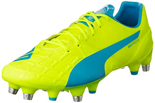 Puma Evospeed 1.4 Mixed Soft Ground, Men's Football Boots, Green (Safety  Yellow/