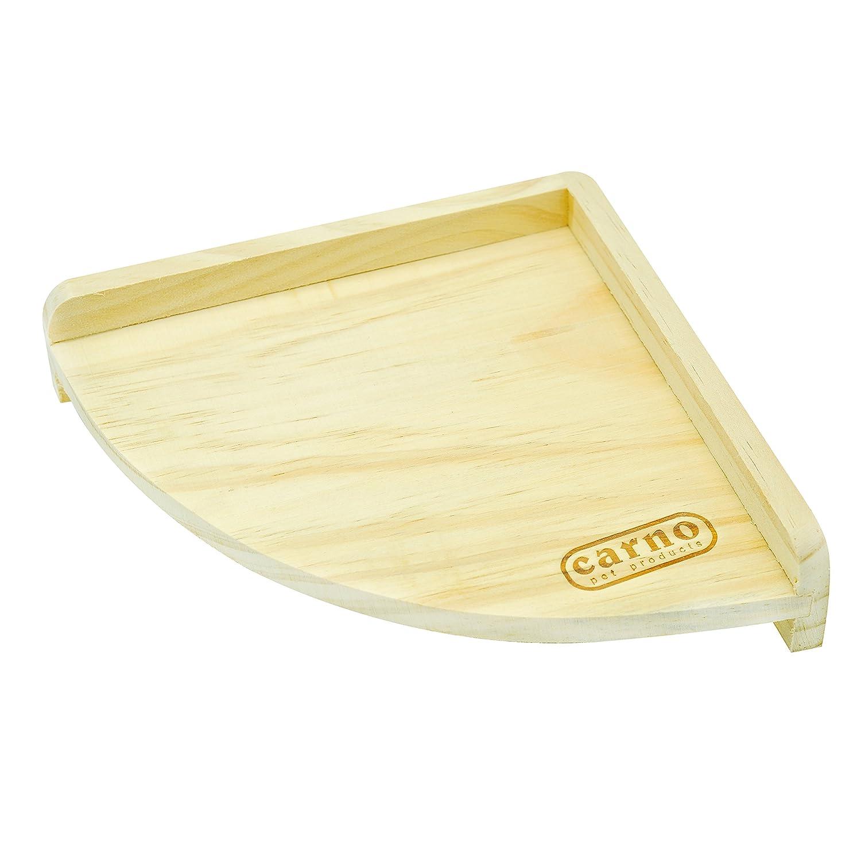 Hamster Small Animal Platform Niteangel Fan Shape Wooden Platform