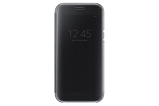 Samsung Clear View Cover für Galaxy A5 (2017) schwarz