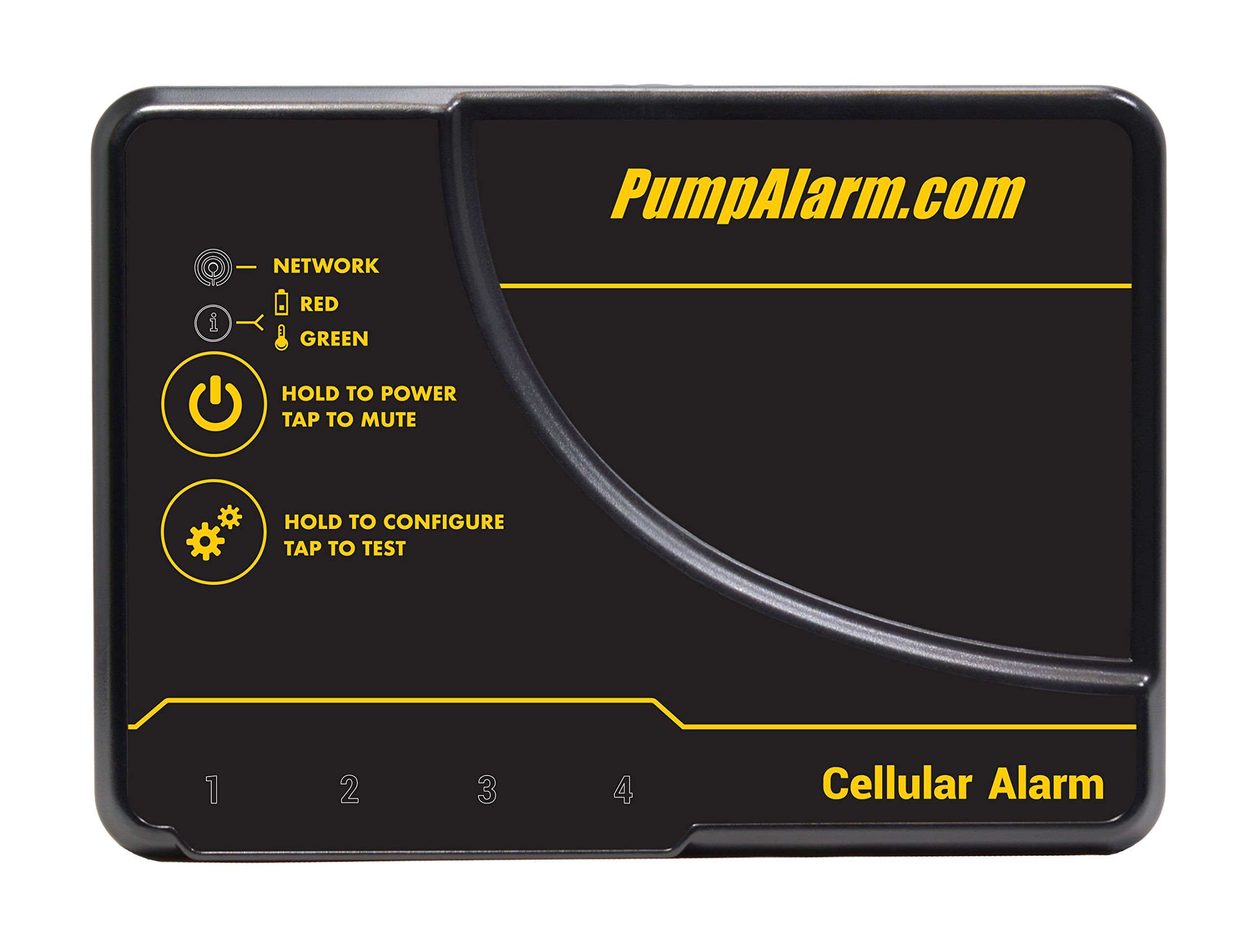 Cellular Power and Temperature Alarm w/ Real-Time SMS Alerts