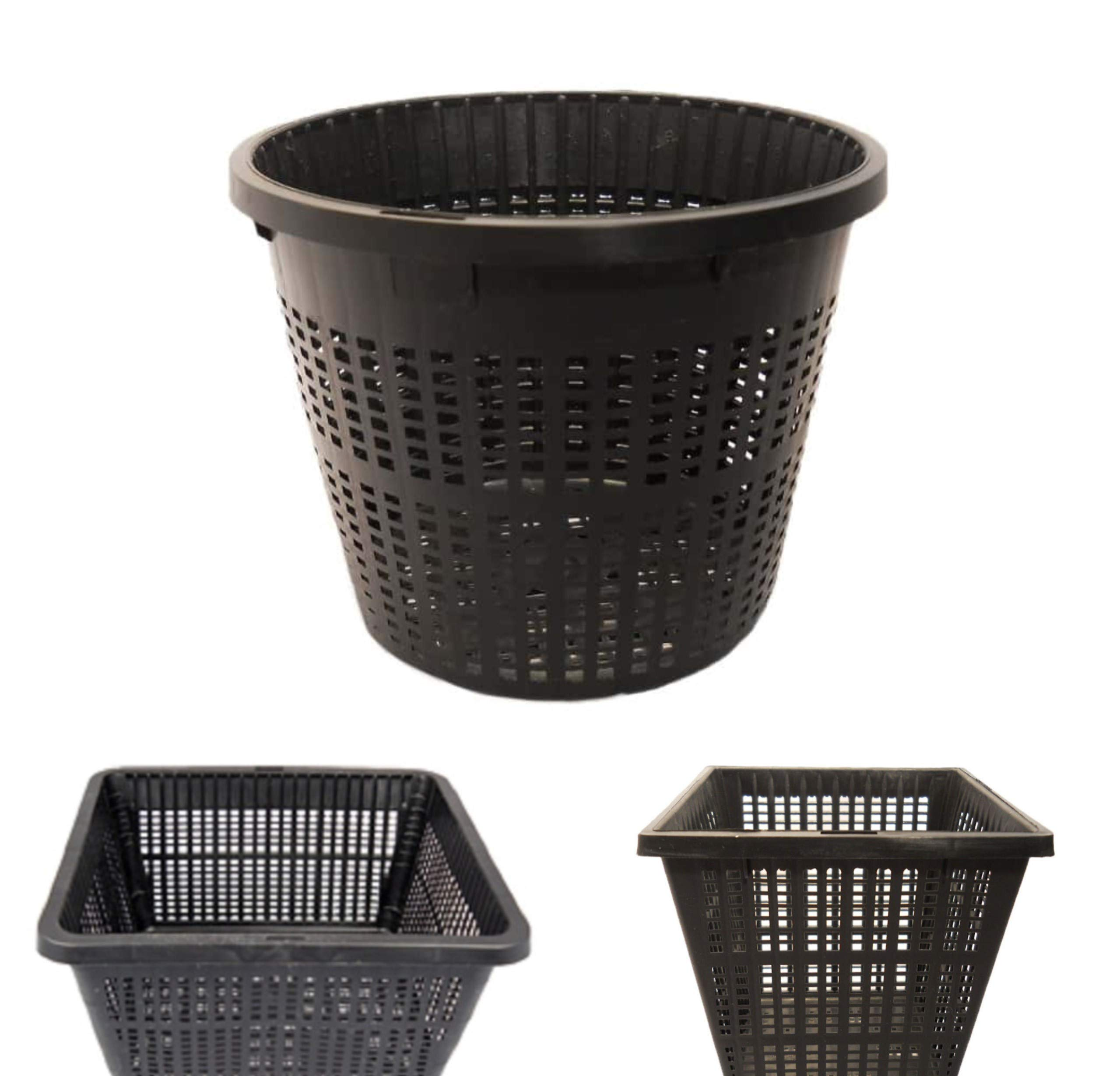 Small Pond Planting Basket Kit, Pond Planting Basket Kit, Includes a Variety of 8 Plastic Pond Baskets