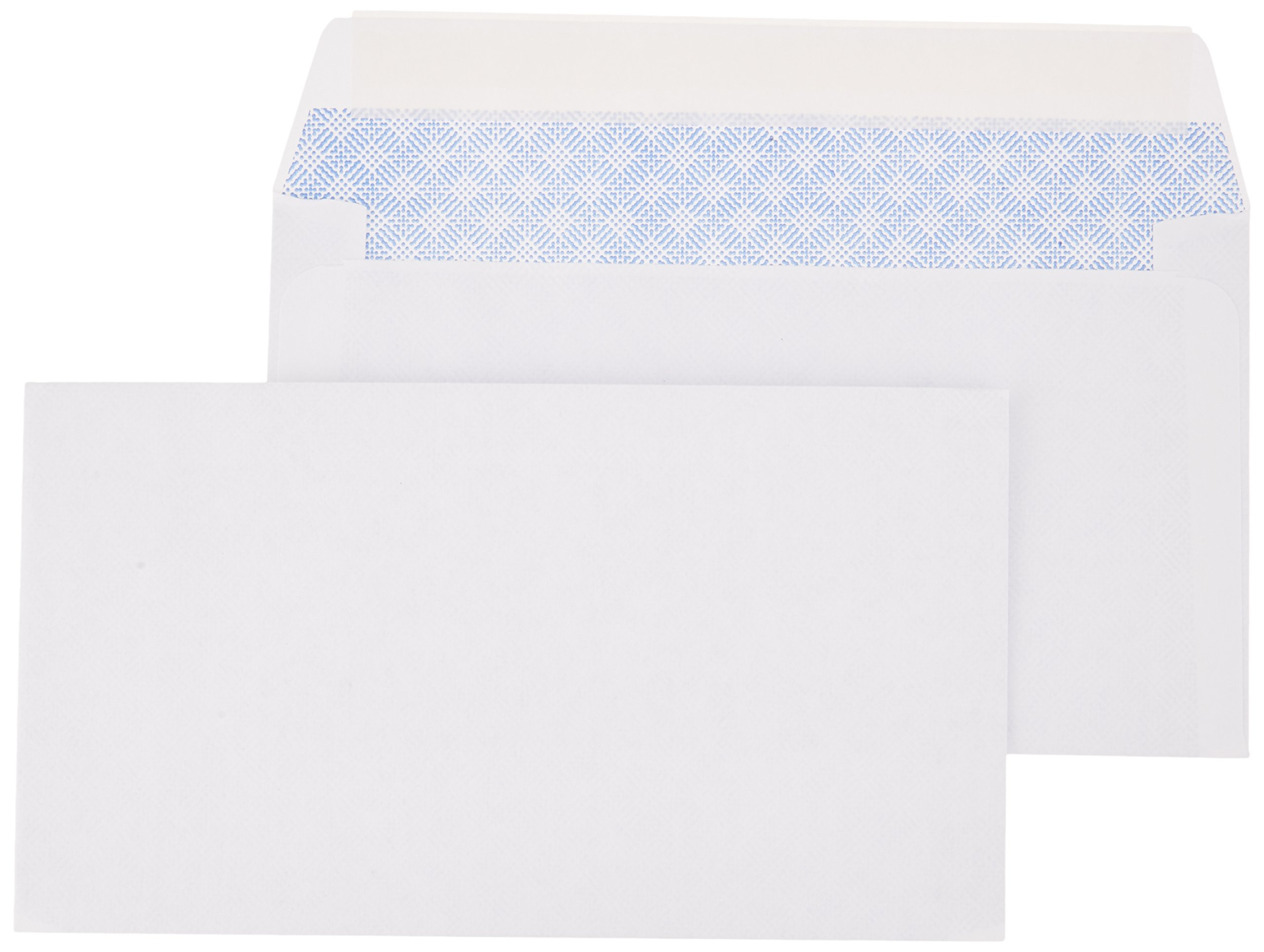 AmazonBasics #6 3/4 Security-Tinted Envelope, Peel & Seal, 300-Pack