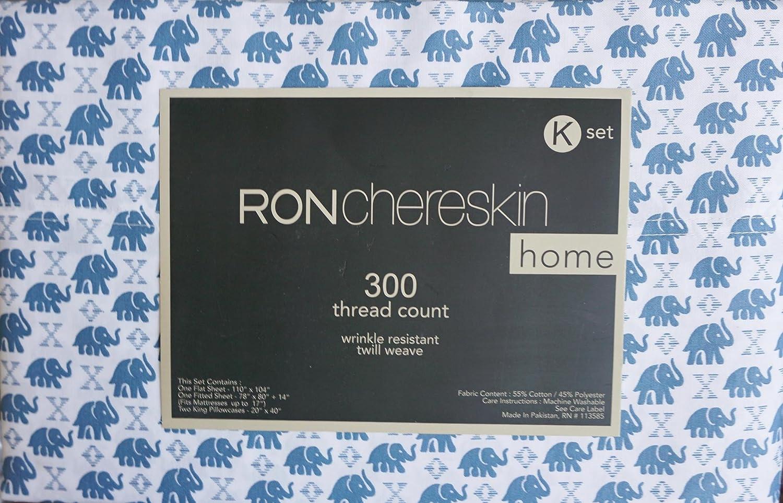 Ron chereskin ropa de cama 4 piezas algodón King juego de ...