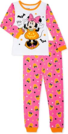 Disney Toddler Minnie Mouse Halloween 2 Piece Pajama Set