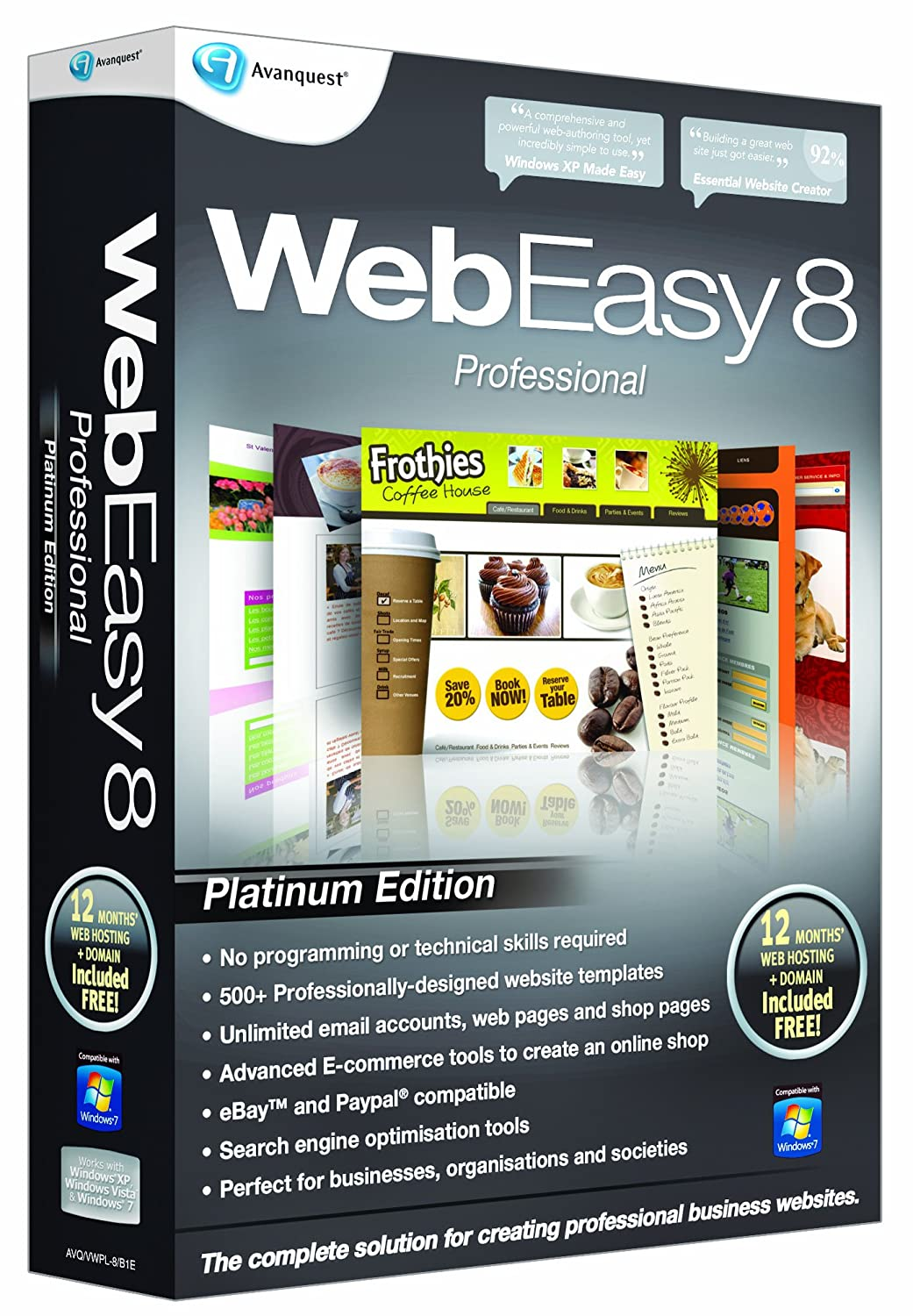 Avanquest webeasy 8.0 key gen