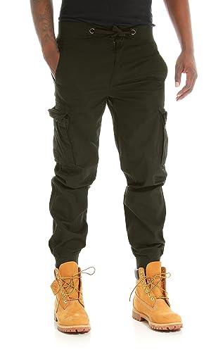 3a41f3c54693 PJ Mark Men s Light Twill Slim Fit Cargo Jogger Pants at Amazon Men s  Clothing store