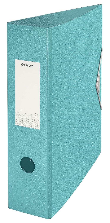 Esselte Archivador Palanca, Azul, A4, Lomo 82mm, Polyfoam, ColourIce, 626217: Amazon.es: Oficina y papelería