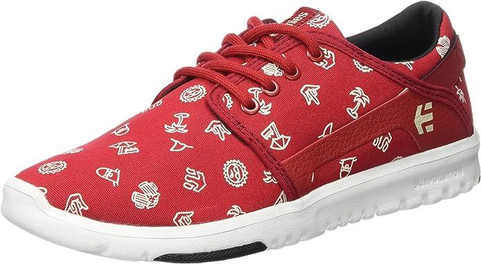 Etnies Scout Sneakers Herren Rot mit Symbolen