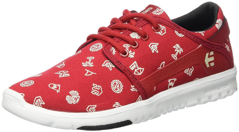 Etnies Scout Sneaker B06XGDJG59 8.5 D(M) US|Red/White