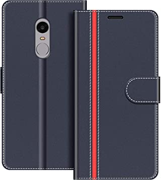 COODIO Funda Xiaomi Redmi Note 4 con Tapa, Funda Movil Xiaomi ...