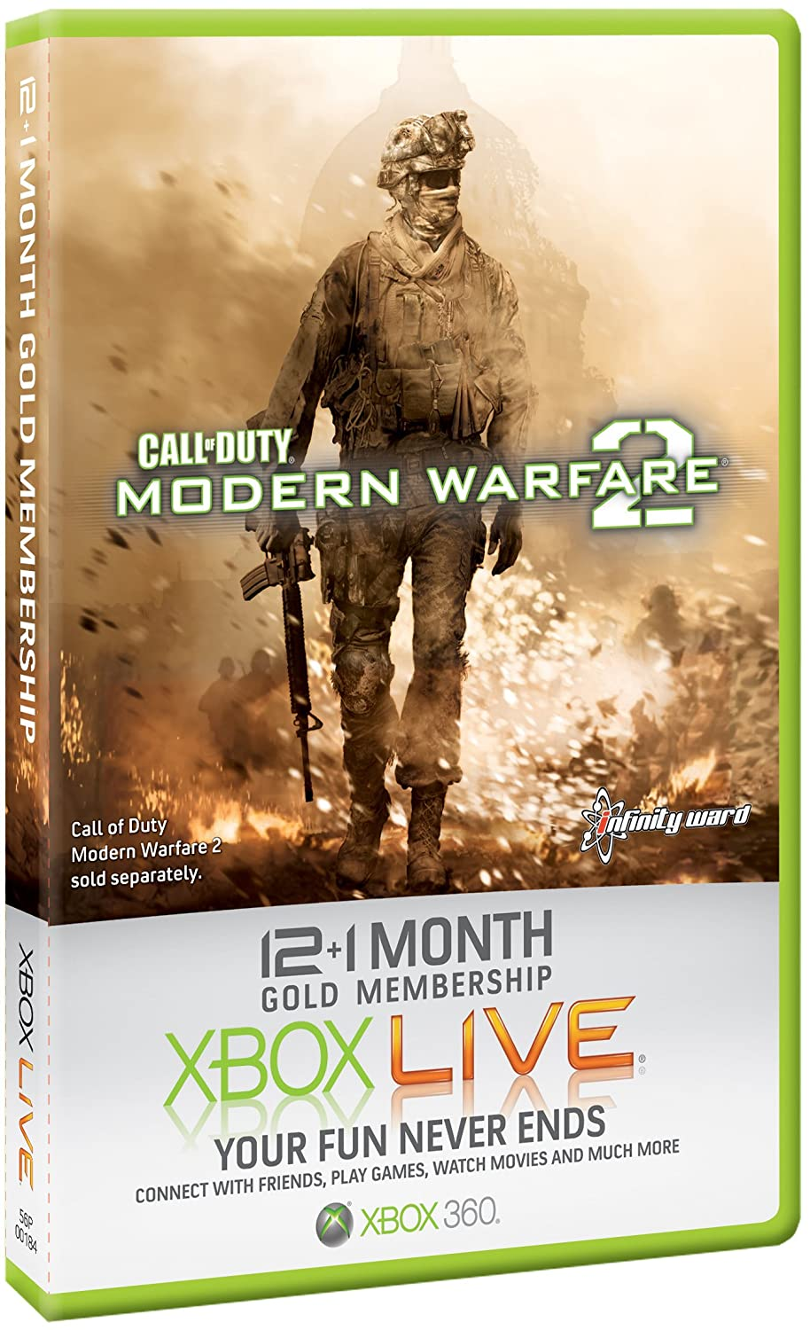 And remember xbox live gold is more than just great deals on games - Xbox Live Gold 12 Month 1 Free Month Membership Card Game Not Included Amazon Co Uk Pc Video Games