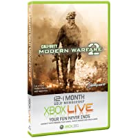 Xbox LIVE Gold 12-Month + 1 Free month Membership Card (game not included)