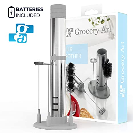 Amazon.com: GA Electric Milk Frother Set 3 en 1 - Handheld ...