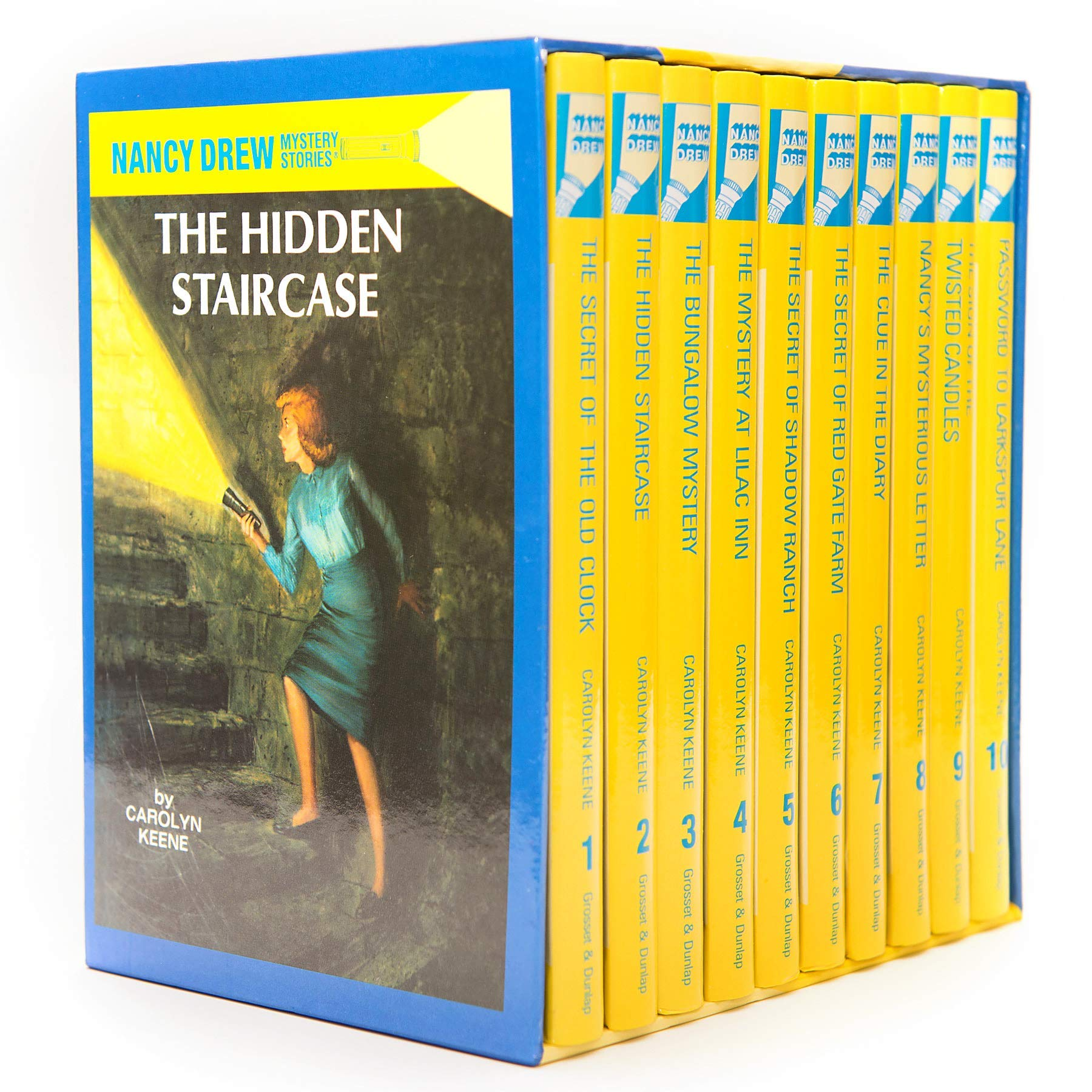 Amazon.com: Nancy Drew Set - Books 1-10 (8601422379983): Keene ...