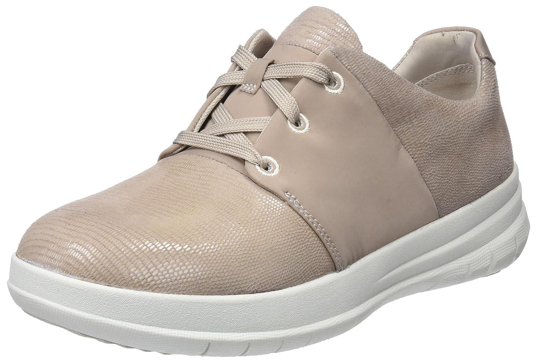 Fitflop Sporty-Pop X Lizard Print Sneaker, Zapatillas para Mujer 37 EU|Rosa (Nude Pink)