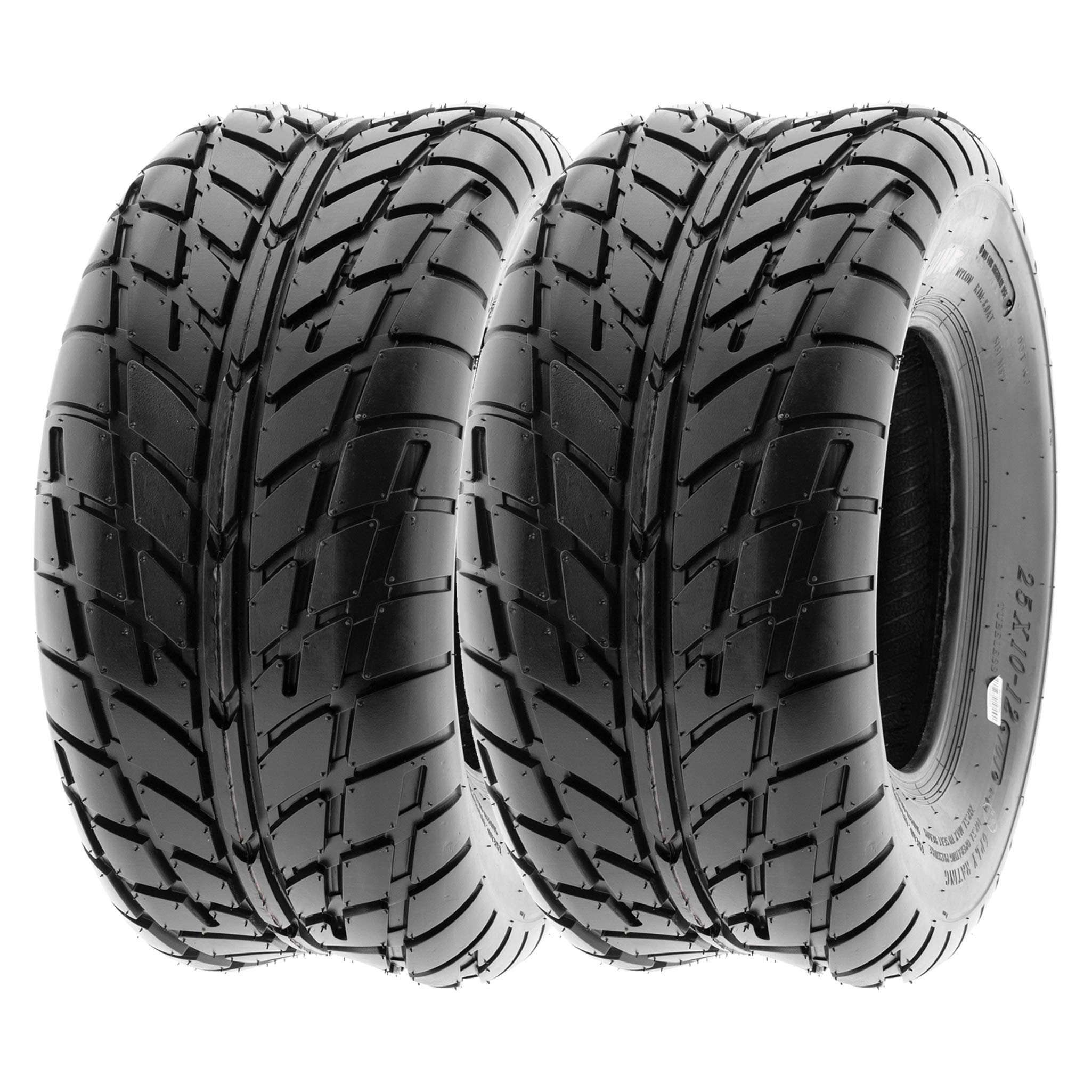 SunF Sport Race Replacement ALL TERRAIN ATV UTV 6 Ply Tires 21x7-10 /& 20x10-9 Tubeless A021, Set of 4