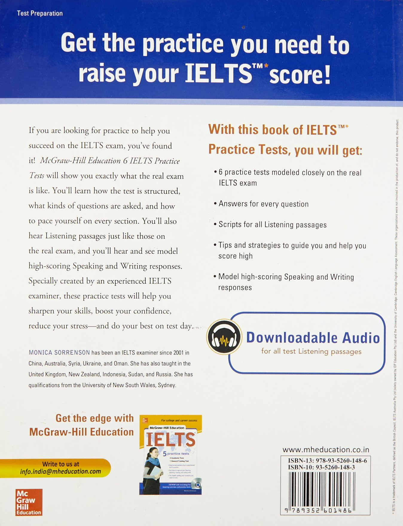 Buy 6 IELTS Practice Tests Book Online at Low Prices in