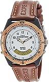 Timex Analog-Digital White Dial Men's Watch-TW00MF100