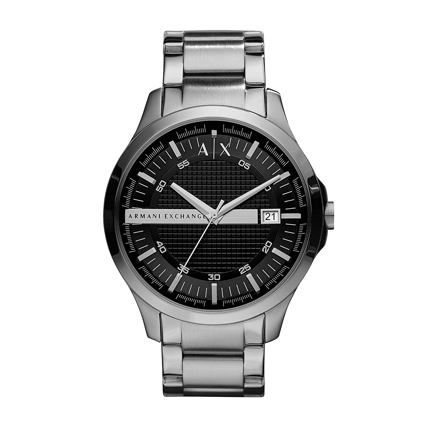 Armani Exchange Hampton Analog Black Dial Men's Watch - AX2103