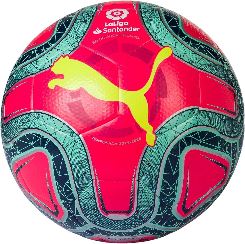 tijeras Latón limpiar  PUMA Laliga 1 Hybrid Balón de Fútbol, Unisex Adulto, Rosa (Pink  Alert-Yellow Alert-Green Glimmer), 5: Amazon.es: Deportes y aire libre