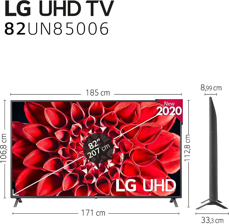 LG 82UN85006LA - Smart TV 4K UHD 207 cm (82