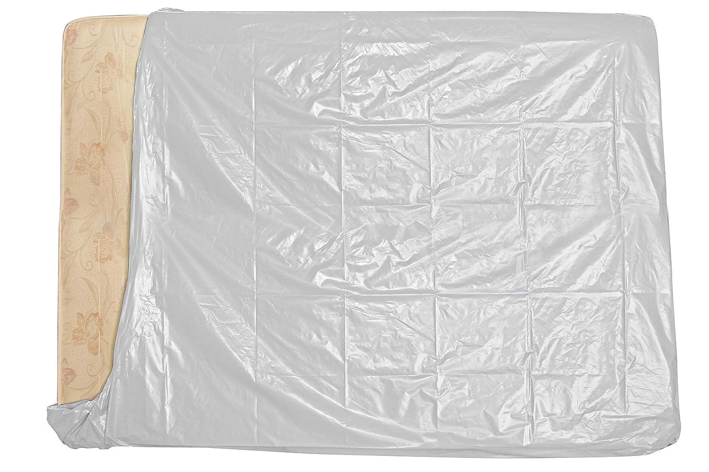 Simba Paper Design 1 Sacco per Materasso 2 piazze x trasloco/conservare Mis. cm 194 x 235 Bianco Coprente 100% Simba Paper Design srl