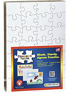 amazon com hamilton buhl pzzl 1225 pre perforated printable jigsaw