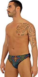 """product image for Lifestyles Direct Tan Through Swimwear for Men with 1"""" Side"""