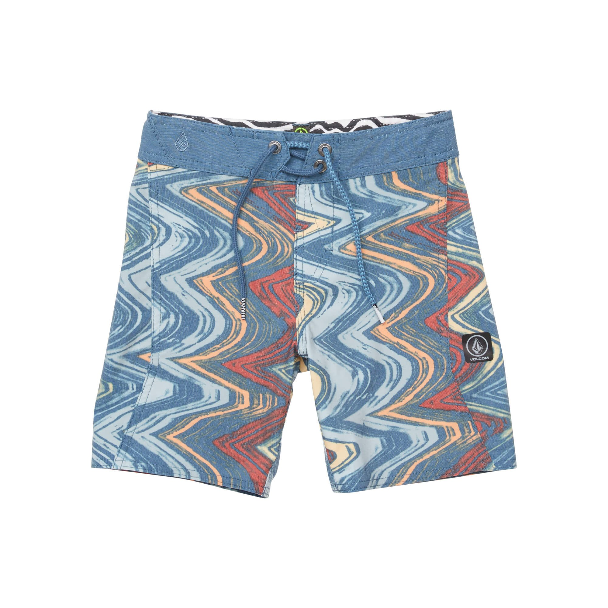 Volcom Little Boys' Lo Fi 13.5'' Boardshort, Sunburst, 4T